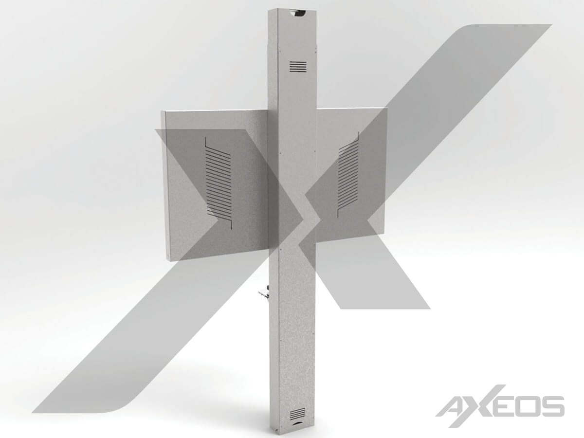 12.2.VC Floor to ceilling bracket - AXEOS