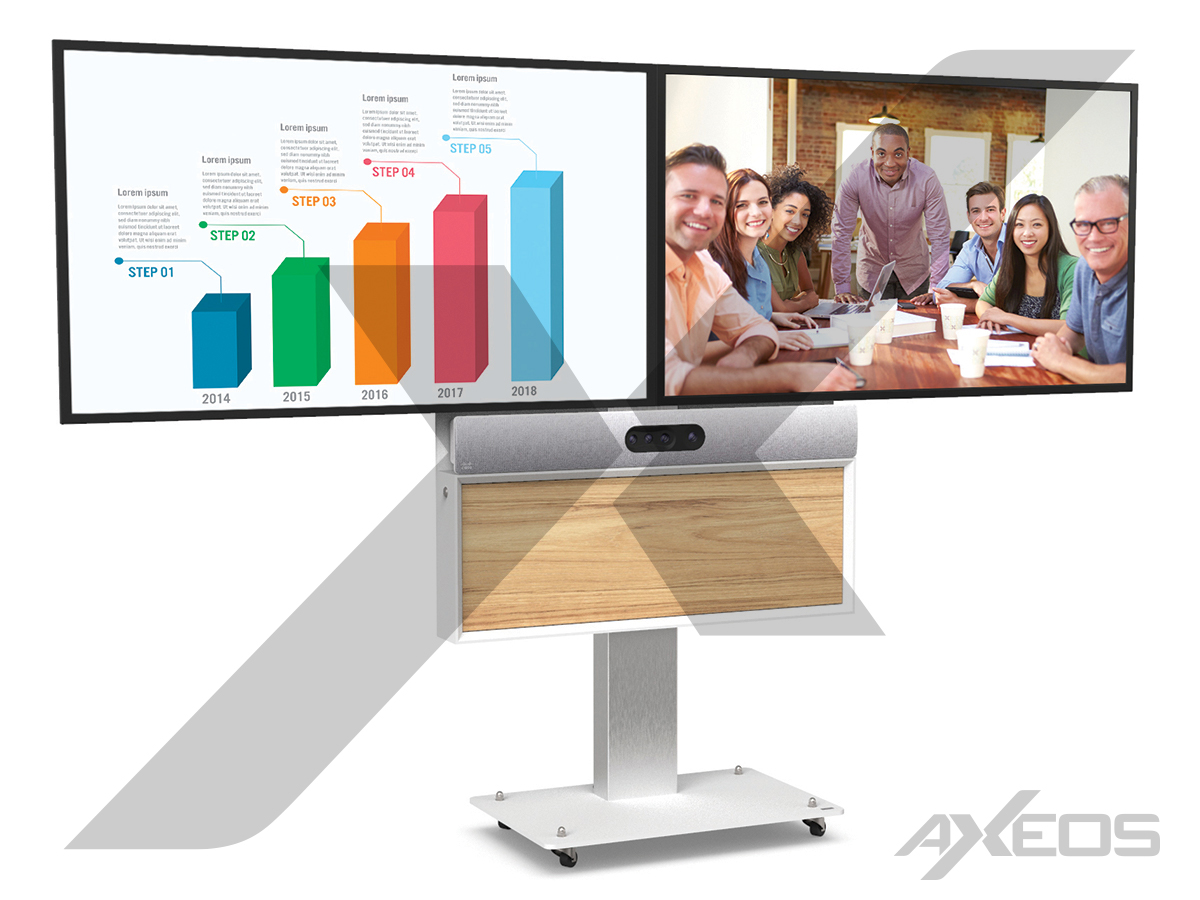 18.1.Boxer Dual Screen with box and Cisco Room Kit Plus - AXEOS