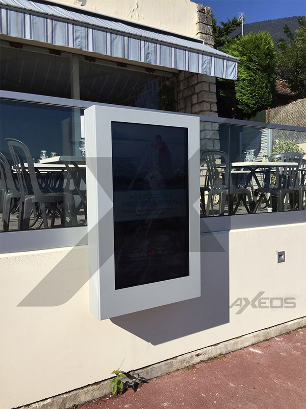 9.1.Outdoor enclosure for display - AXEOS