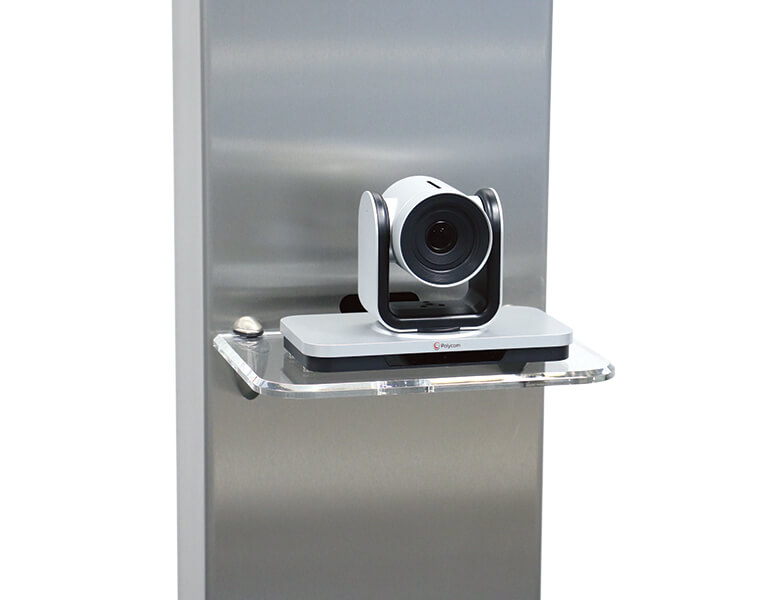 Camera shelf - VC stand - Polycom EagleEye IV - AXEOS