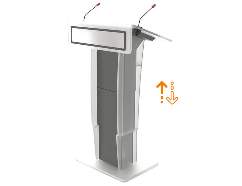 Neonyx Lift - Lectern for Conference meeting - AXEOS