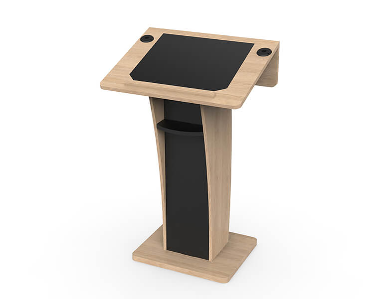 Neonyx Wood Lectern in carpentry - AXEOS
