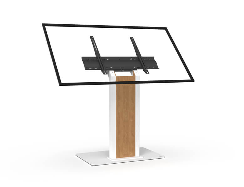 Obox Touch - touch screen kiosk - White finish - AXEOS
