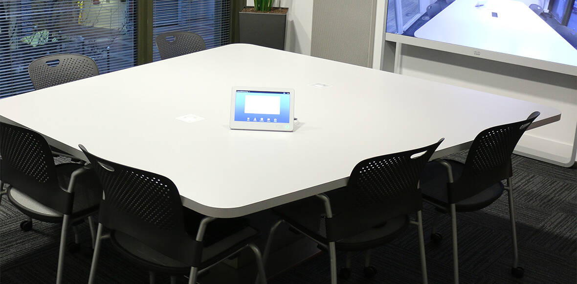 On choisit une forme de table visio - Axeos