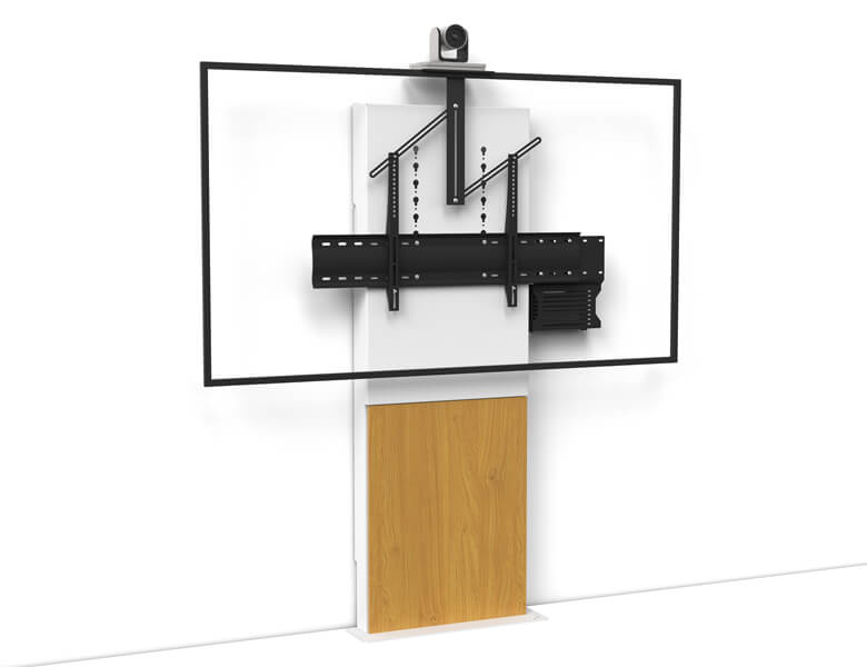 Stilix Wide Single Screen Videoconferencing - AXEOS