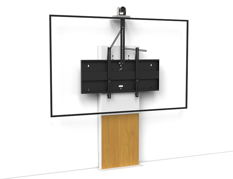 Stilix Wide Single Screen Videoconferencing - Stand for large screen - AXEOS