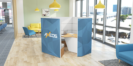 [vignette atu] Mx Pod - huddle room - AXEOS