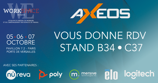 AXEOS - COMMUNICATION WORKSPACE EXPO 4800x2520
