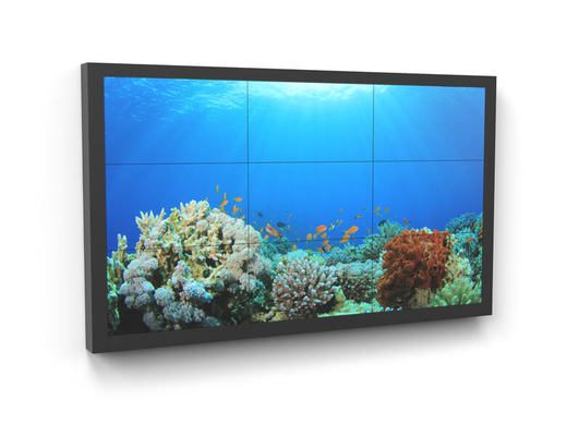 Casing for video wall - digital signage - AXEOS
