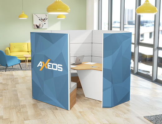 Mx Pod - huddle room - AXEOS