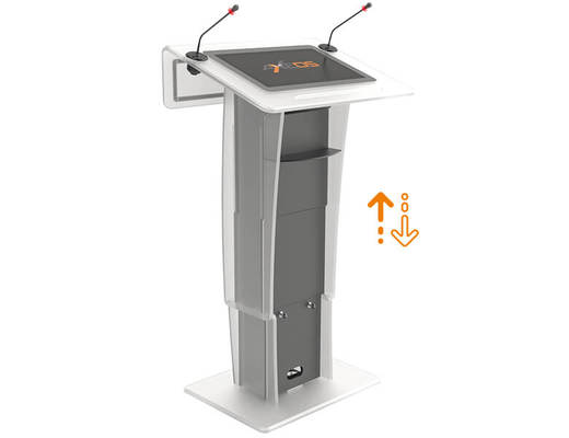 Neonyx Touch Lift - Lectern in Plexiglass - AXEOS