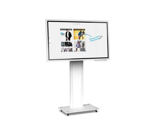 Obox - display stand for Samsung Flip - White finish - AXEOS