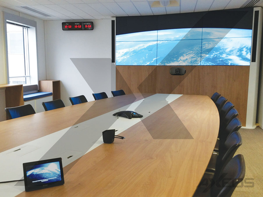 Oval table 18 people - Board room - AXEOS
