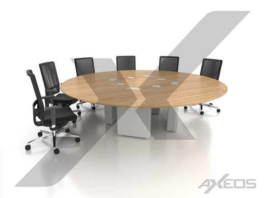 Round table 10 people - AXEOS