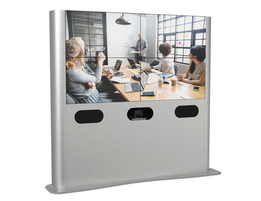 Videoconferencing Video wall - LED video wall - AXEOS
