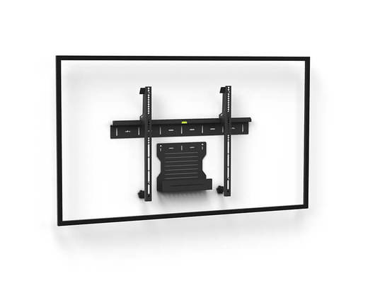 Wall mount 1U Single Screen - AXEOS