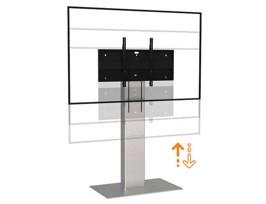 Xenon Touch Lift - Floor Stand for large touch screen - Digital Signage - AXEOS