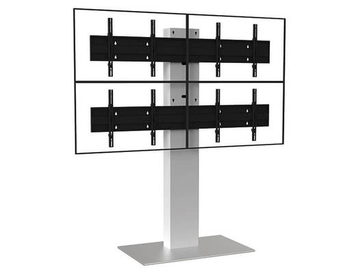 Xenon X4 4 Screens Floor Stand for Digital Signage - AXEOS