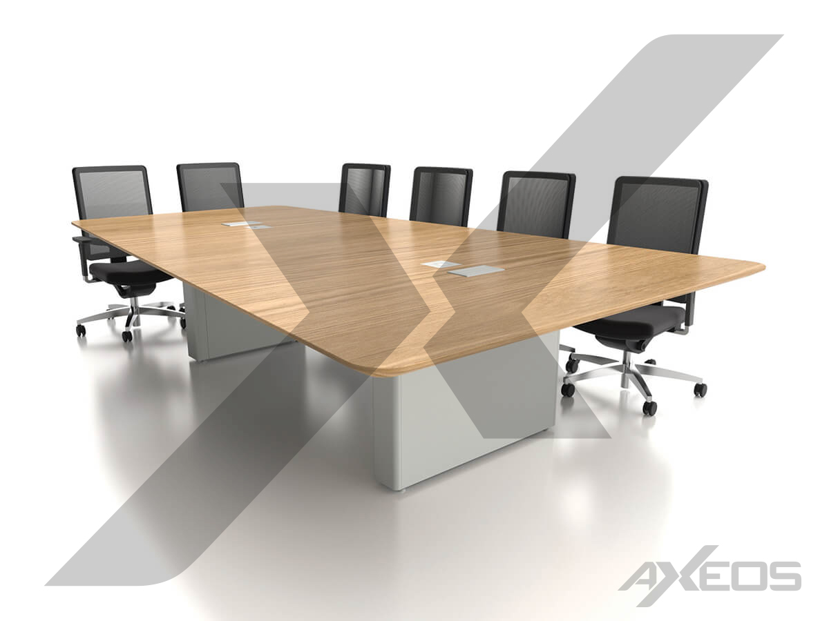 Trapezoidal table 10 people - AXEOS