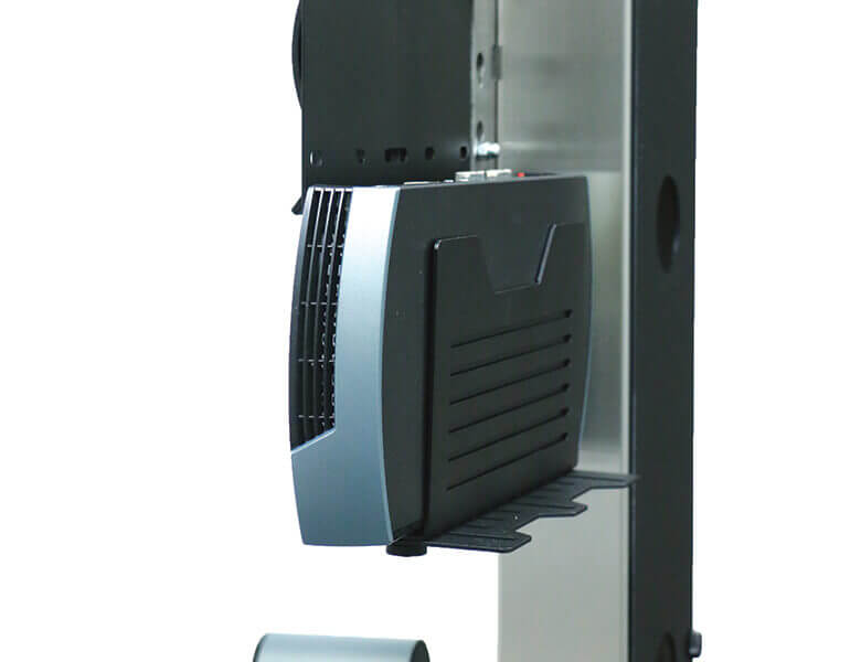 Universal codec holder - Single Screen Stand - LifeSize ICON 600 - AXEOS