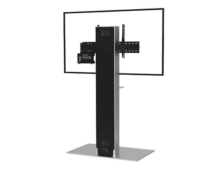 Xenon Single Screen Videoconferencing - Rear View - AXEOS